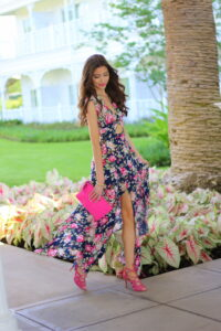 Dreamy Garden Maxi Dress