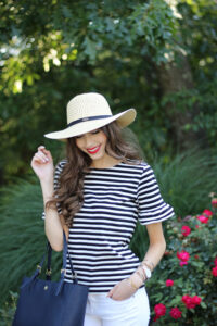 Parisian Inspired… All About the Striped Top