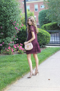 LBD – Little Burgundy Dress for Fall