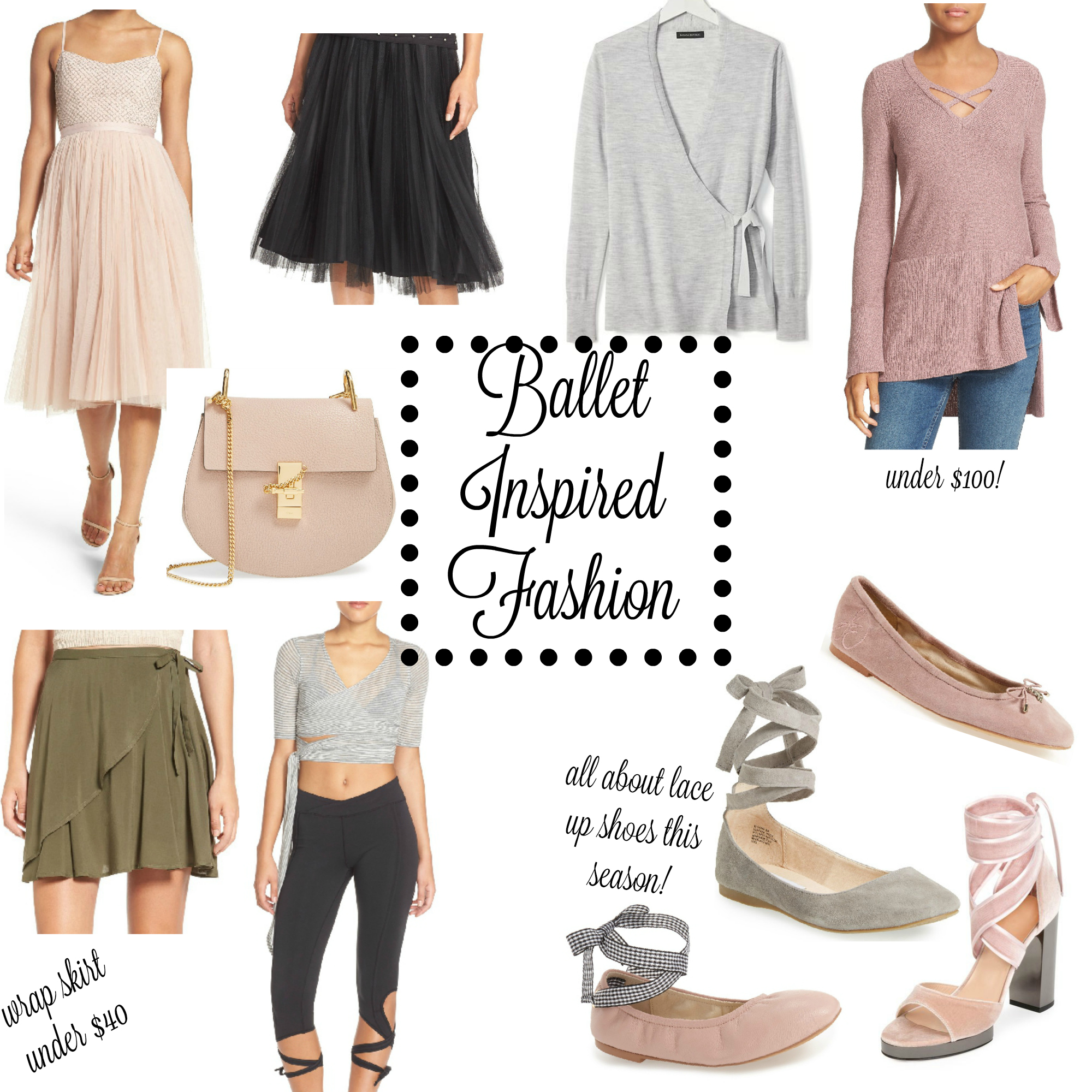 Ballet Inspired Fashion