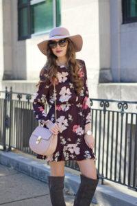 Floral & Flowy Dress