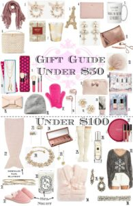 Gift Guide No. 2: Gifts Under $50 & Under $100