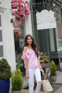 Pink Spring Outfit