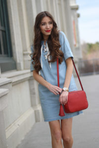 3 Ways To Style A Chambray Dress