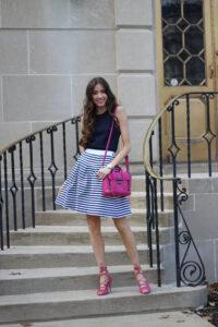 Fit & Flare Spring Skirt