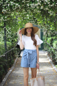 How To Style: Bow Shorts