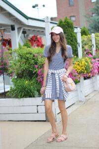 Striped T-Shirt Dress + Summer Striped Faves