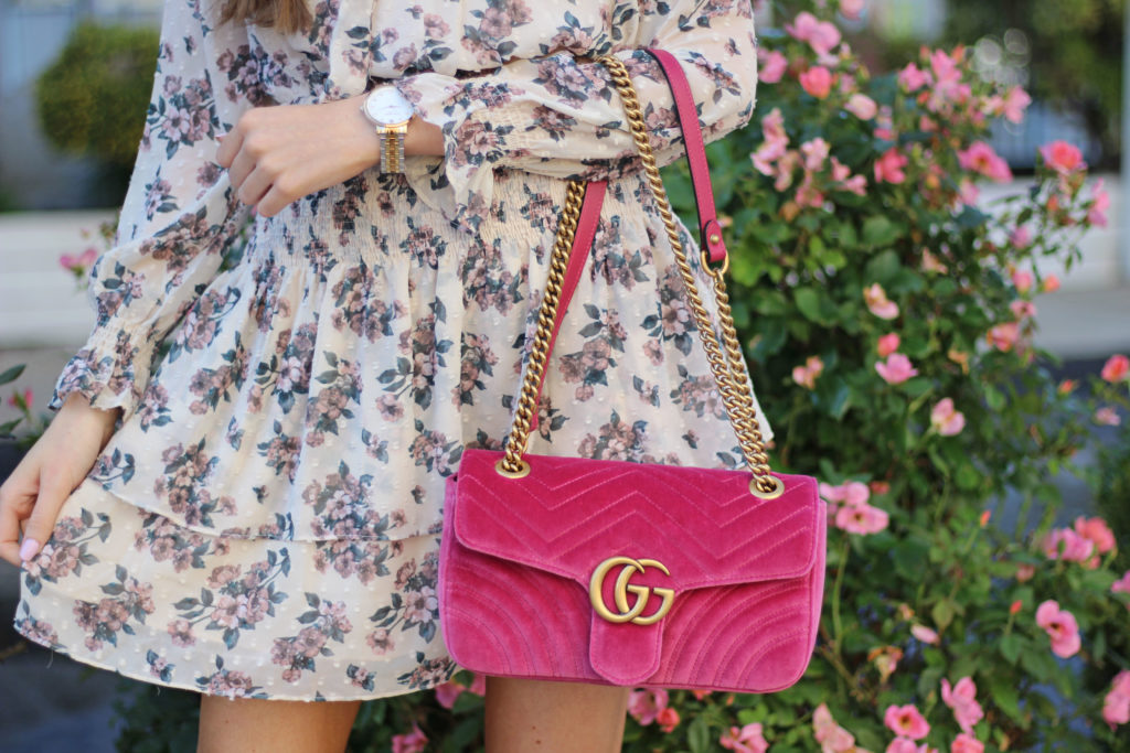 Gucci Velvet Marmont Bag Review