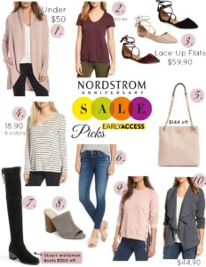 Nordstrom Anniversary Sale Early Access Wishlist + Picks