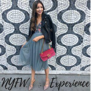 My New York Fashion Week Experience