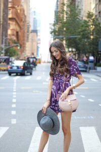 Floral Romper For Fall (Only $45!!)