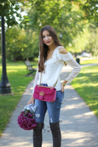 Favorite Fall Top, Jeans, Bag + Boots… + a major beauty sale happening right now!!