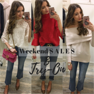 Weekend Sales Guide + LOFT Sale Try-On!!