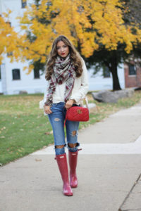 5 Things I'm Loving Lately + $25 Plaid Scarf