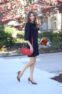 Trending for Fall… Red X Leopard