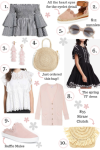 10 Items You Should Have On Your Spring Wishlist