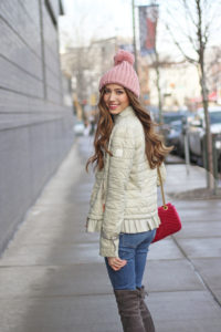 Most Darling Puffer Coat for Winter to Spring