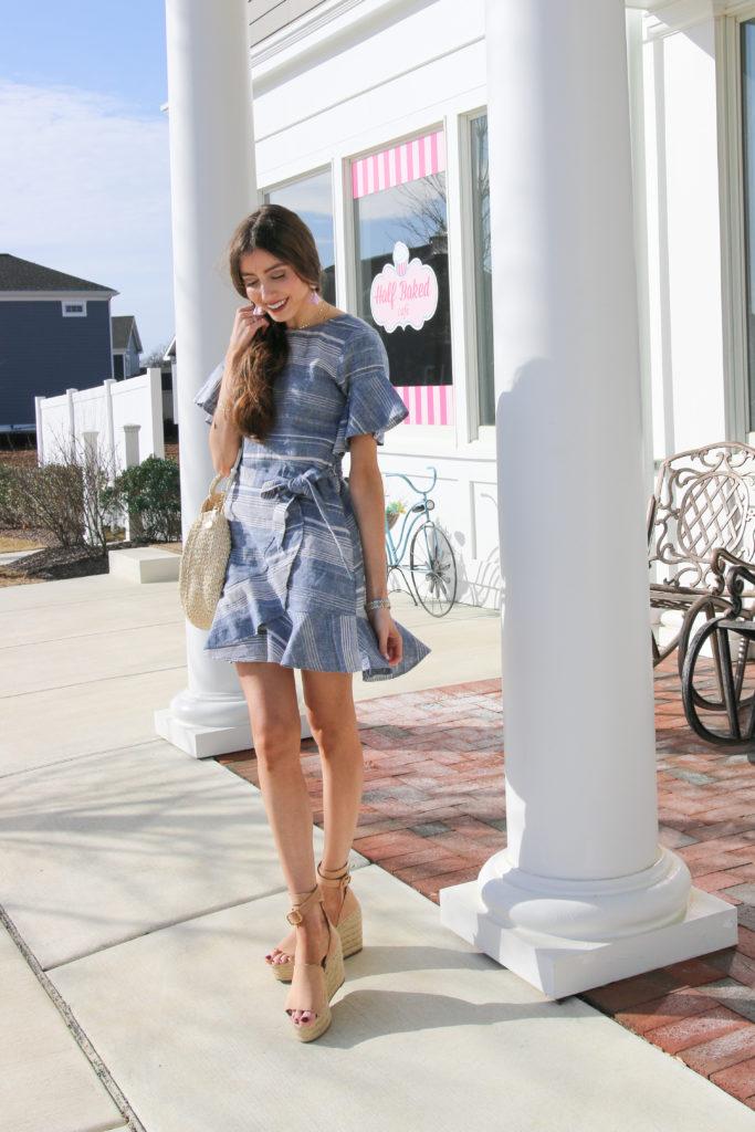 express-spring-chambray-dress-clare-v-alice-bag-tote
